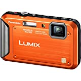 Panasonic Lumix TS20 16.1 MP TOUGH Waterproof Digital Camera with 4x Optical Zoom (Orange) (OLD MODEL)