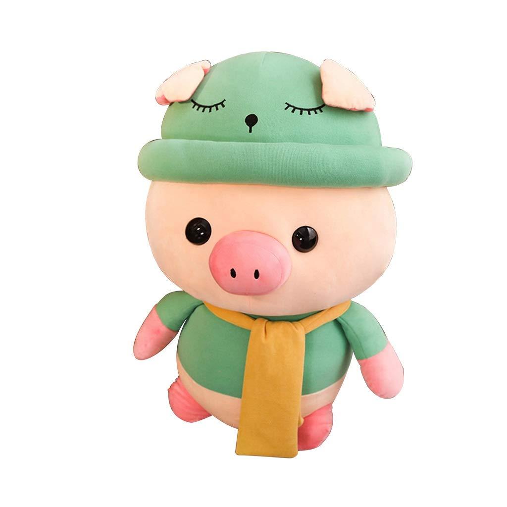 Brilliant firm Cuscino Bambola Carina Regalo di Compleanno Cuscino Carino per Dormire Regalo di Compleanno per Bambini Materiale Molto Sano e Sicuro (Colore   verde, Dimensione   Height 50cm)