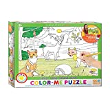 EuroGraphics Forest Color Me Puzzle (100 Piece)