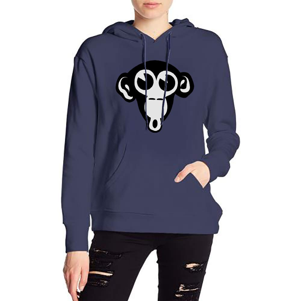 JiJingHeWang Womans AFFE Sweater Sports Drawstring Hooded