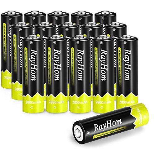 le Batteries 2800mAh Ni-MH Battery (16 Pack) ()