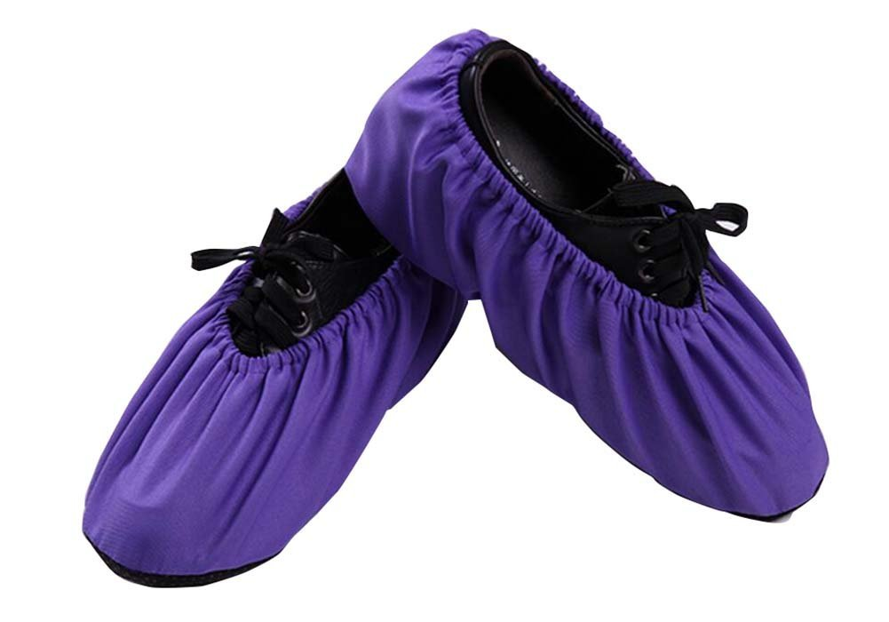 One Pair Purple Indoor Shoe Cover High Quality Shoe Protector Black Temptation