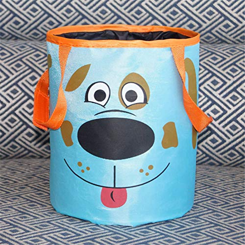 DeemoShop Car Trash Bin Auto Organizer Storage Box Car Trash Can Rubbish Garbage Holder Seat Back Bag Bucket Accessories