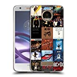 Official AC/DC ACDC Album Covers Collage Soft Gel Case for Motorola Moto Z / Z Droid