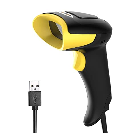 MUNBYN 2D Barcode Scanner, QR Wired Reader for Mobile Payment Computer  Screen Scan,Support Windows Mac and Linux PC POS