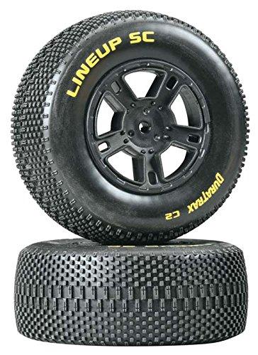 Lineup SC Tire C2 Mounted Black SC10 Rear (2)