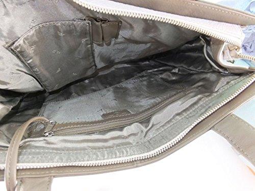 Voi Tasche 2farbig schilf-trüffel
