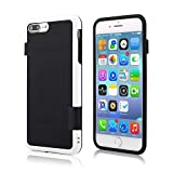 iPhone 6S Case, iPhone 6 Case, MCUK Ultra Slim 3 Color Hybrid Best Impact Defender Cover Soft TPU & Hard PC Bumper Protective Case for Apple iPhone 6S/6 (4.7'') (Black)