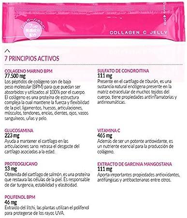Otsuka Jelly C Colageno 77.500mg: Amazon.es: Salud y cuidado ...