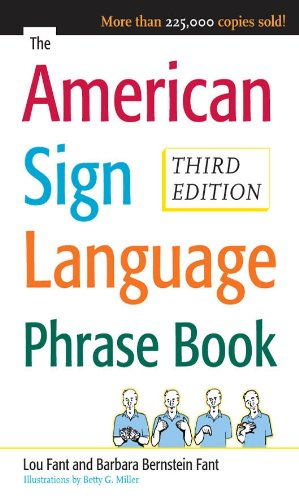 The American Sign Language Phrase Book American Sign Language Alphabet