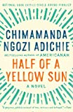 Book cover from Half of a Yellow Sun by Chimamanda Ngozi Adichie