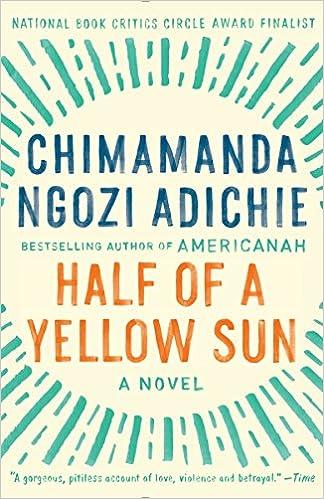 Amazoncom Half Of A Yellow Sun 8601401173335 Chimamanda Ngozi