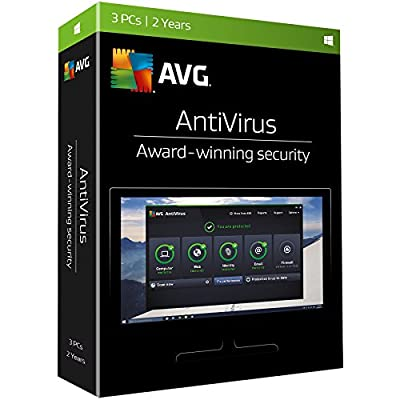 AVG Antivirus, 3 PCs, 2 Years