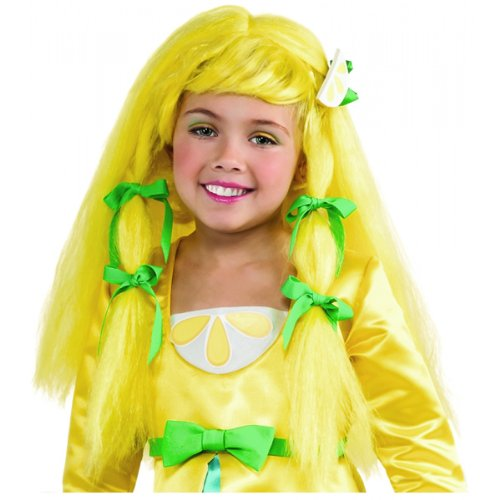 Lemon Meringue Costumes (Strawberry Shortcake Meringue Wig in Lemon)