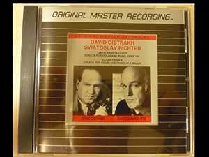David Oistrakh Sviatoslav Richter - Sonata for Violin and Piano MFSL CD