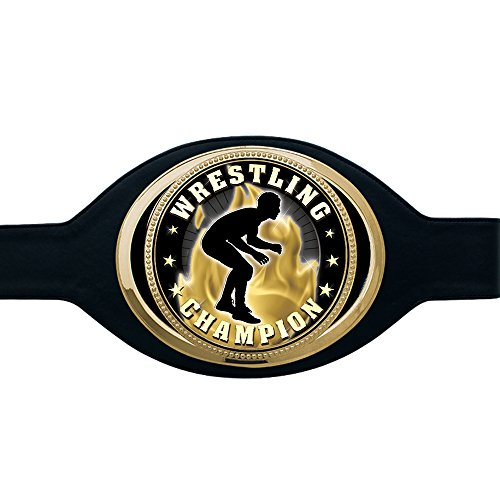 Premier Gold Wrestling Belt by Crown Awards