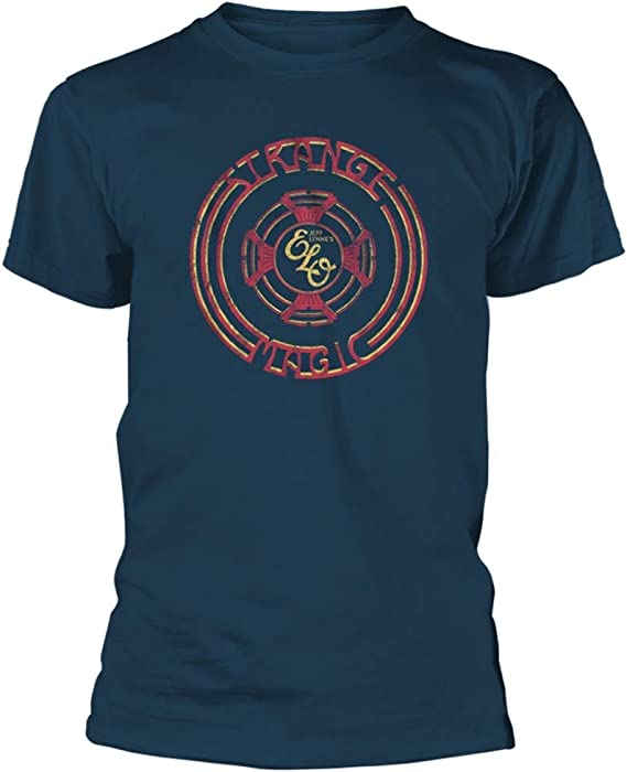 T-Shirt NEW /& OFFICIAL! Electric Light Orchestra /'Strange Magic/' Blue