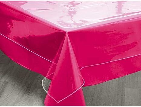 Image ofSoleil d'ocre 853600 Mantel Cuadrado Transparente 180x180 Cristal