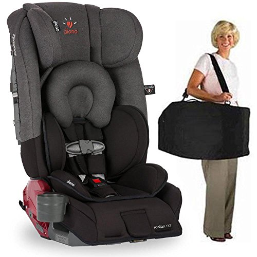 Diono Radian RXT Car Seat With Carrying Bag Black Mist