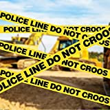 Police Line Do Not Cross Tape 2 Pack, 3 inch x 1000