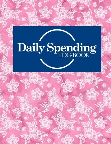 Daily Spending Log Book: Business Expense Ledger, Expense Management, Daily Spending Record Book, Spending Envelopes, Hydrangea Flower Cover (Volume 46)