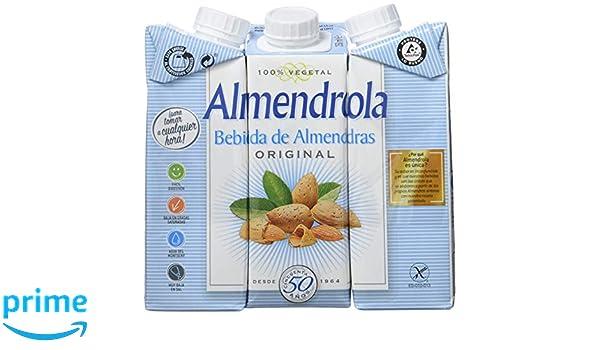 ALMENDROLA Bebida de Almendras Original 250ml [caja de 8 packs de 3x250ml]: Amazon.es: Alimentación y bebidas