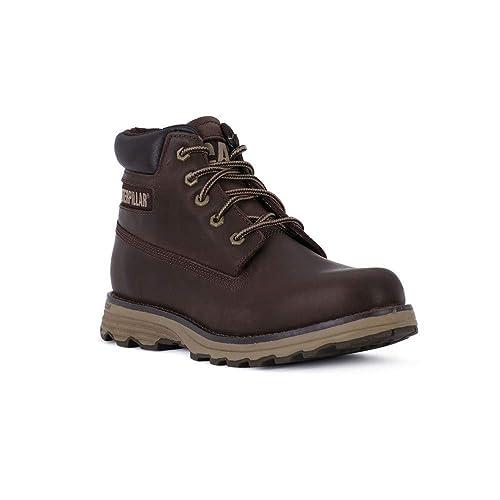 Caterpillar Founder - Botas de Piel para Hombre marrón marrón: Amazon.es: Zapatos y complementos