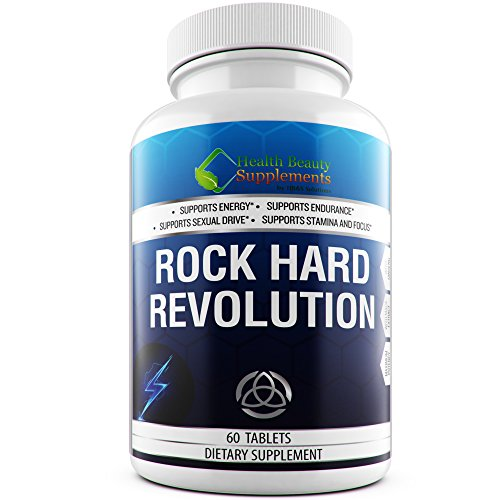 Rock Hard Revolution Extreme. All Natural Formula for Men with Vitamins and Minerals. 60 Capsules