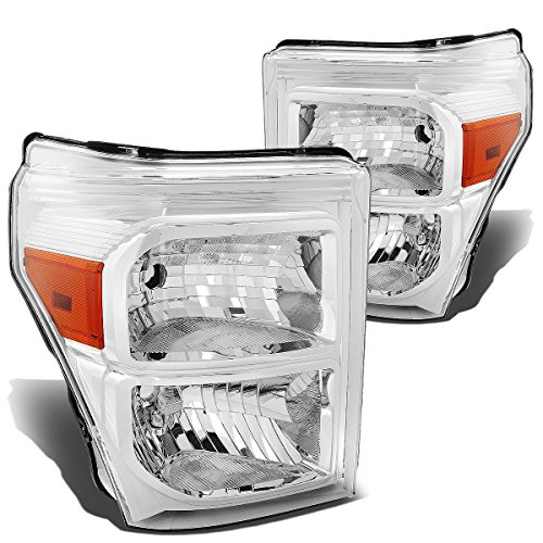 DNA MOTORING HL-OH-FSU13-CH-AM Headlight Assembly, Driver and Passenger Side -