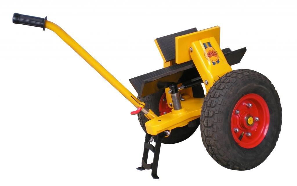 Abaco Slt13M3 - Self Locking Trolley M3 (Pneumatic Tire) (Slab Dollies)