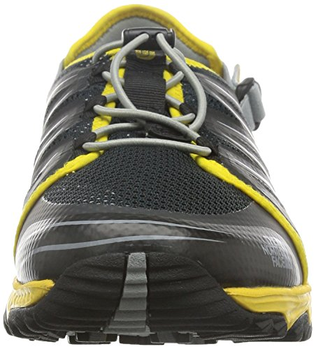 The North Face M Litewave Amphibious, Sandalias Deportivas para Hombre Negro (TNF Black / Freesia Yellow)