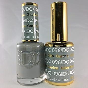 DND DC Duo Gel + Polish , 096 Olive Garden