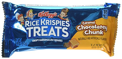 Kellogg's Rice Krispies Treats Caramel Chocolatey Chunk Treats Twenty 1.4 Ounce Bars -