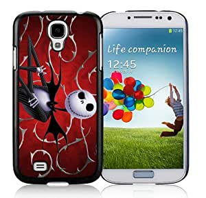 Fashion And Unique Samsung Galaxy S4 I9500 Case Designed With Jack Skellington Black Samsung S4 Cover