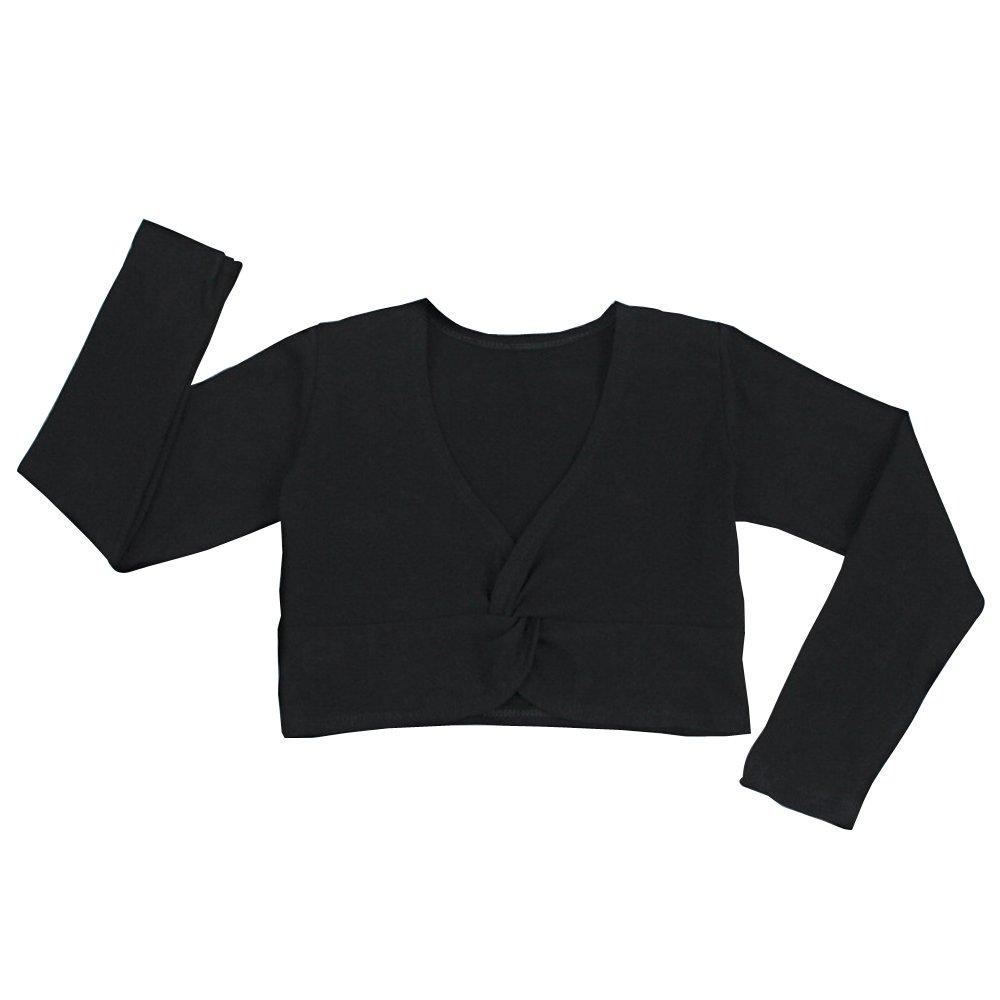 KINDOYO Ballet Wrap-Around Jacket Sweater Cotton Ballet Dancewear Childrens Kids Girls