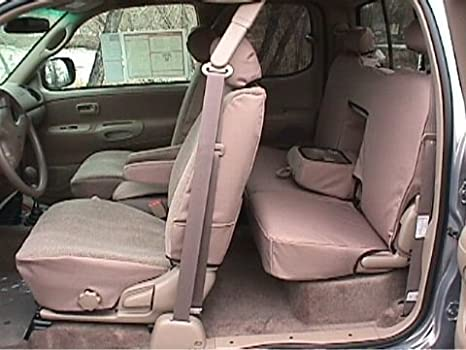 Cool Amazon Com Toyota Tundra Access Cab Front And Back Seat Short Links Chair Design For Home Short Linksinfo