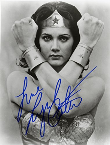 Lynda Carter Wonder Woman Signed Autographed 8x10 Inch Photo Print