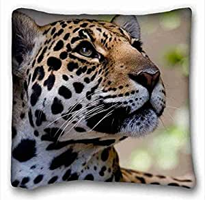 Generic Personalized Animal Custom Cotton & Polyester Soft Rectangle Pillow Case Cover 16x16 inches (One Side) suitable for Twin-bed