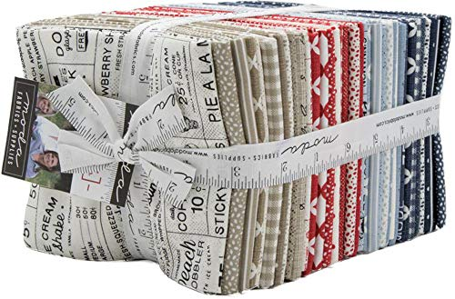 Sweet Tea 37 Fat Quarter Bundle by Sweetwater for Moda Fabrics 5720AB ()