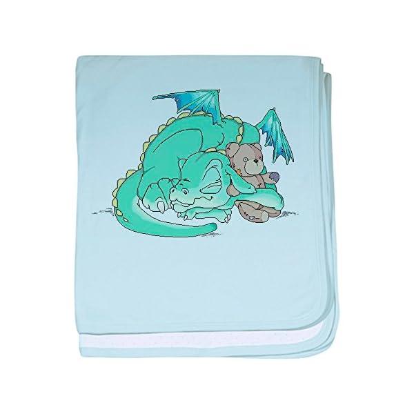 CafePress Baby Dragon Baby Blanket, Super Soft Newborn Swaddle