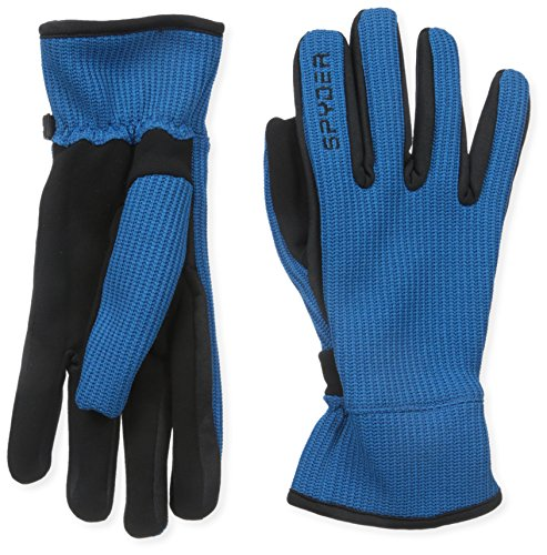 Spyder Men's Core Sweater Conduct Gloves, Large, Concept Blue/Black