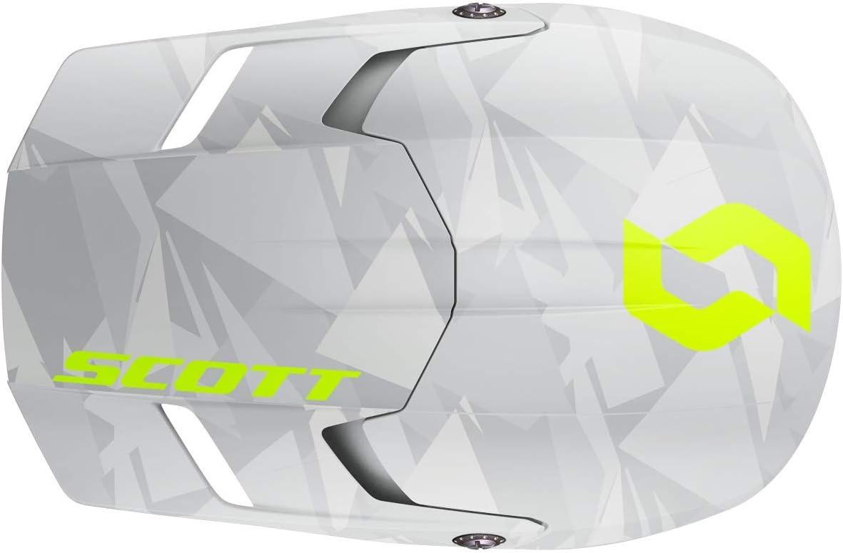 Scott 350 Evo Camo grau//gelb Crosshelm M