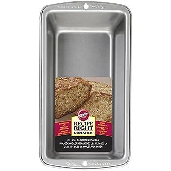 Amazon Com Loaf Pan Commercial Grade Aluminum 8 5 Quot X 4 5