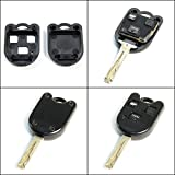 STAUBER Best Lexus Key Shell Replacement / NO LOCKSMITH REQUIRED! Save money using your old key and chip! - Black