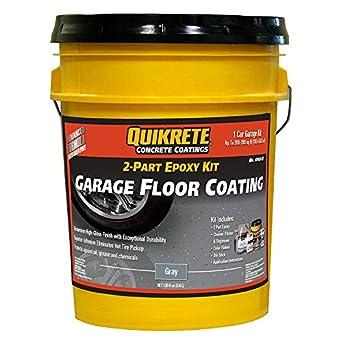 Amazon Com Quikrete Garage Floor 2 Part Epoxy Gray Kit Industrial