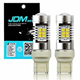 JDM ASTAR 1260 Lumens Extremely Bright PX Chips 7440 7441 7443 7444 White Backup Reverse LED Bulbs