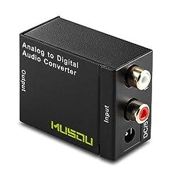 Musou RCA Analog to Digital Optical Tosl...