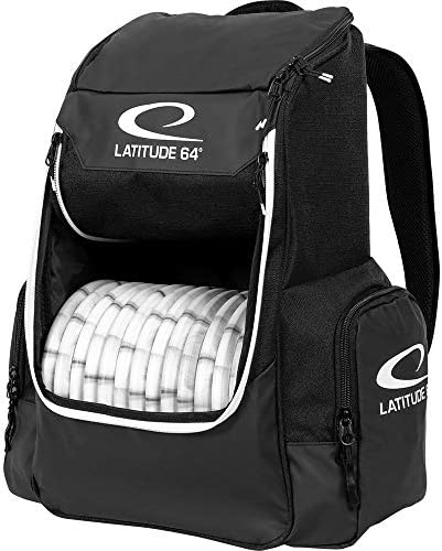 Latitude 64 Core Disc Golf Backpack – Holds Up to 20 Discs Lightweight and Compact Disc Golf Backpack