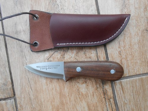 Craftsman Made Neck Knife - Hang It Round Your Neck so You Are Never Without This Remarkable Little Knife - Walnut and 01 Carbon Tool Steel - Little Bear Carbon Knife