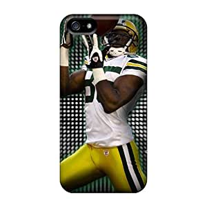 Scratch Resistant Cell-phone Hard Covers For Iphone 5/5s (hfG20168rAFr) Provide Private Custom HD Green Bay Packers Image